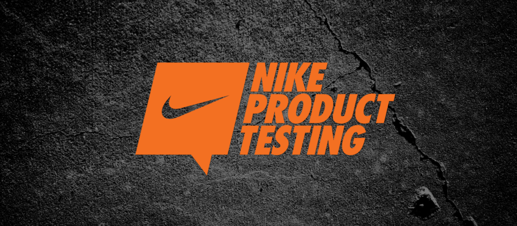 Sign up to be a Nike Product Tester | Product Testing