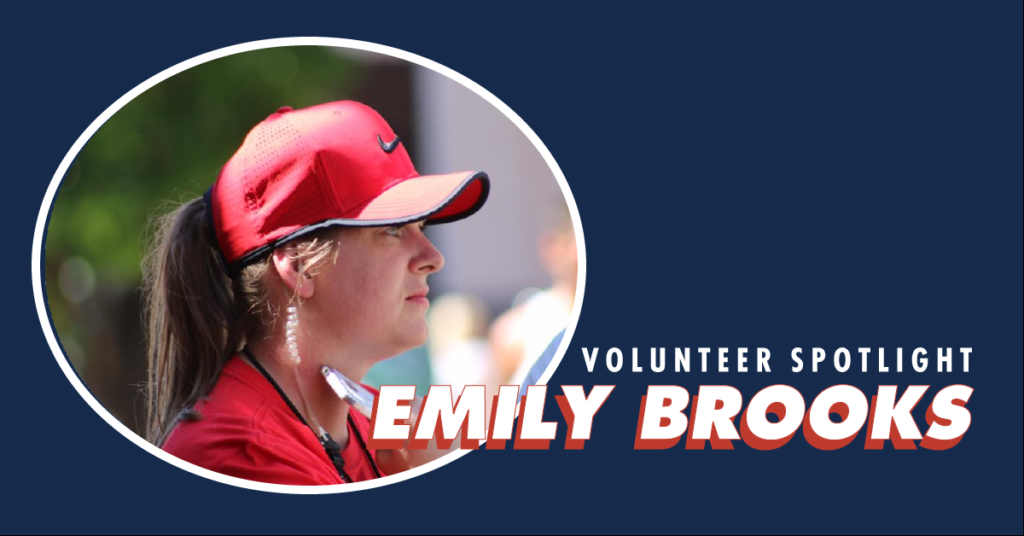 Volunteer Spotlight, Emily Brooks.